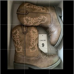 Cowboy cowgirl boots 9c